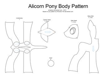 Alicorn pattern body