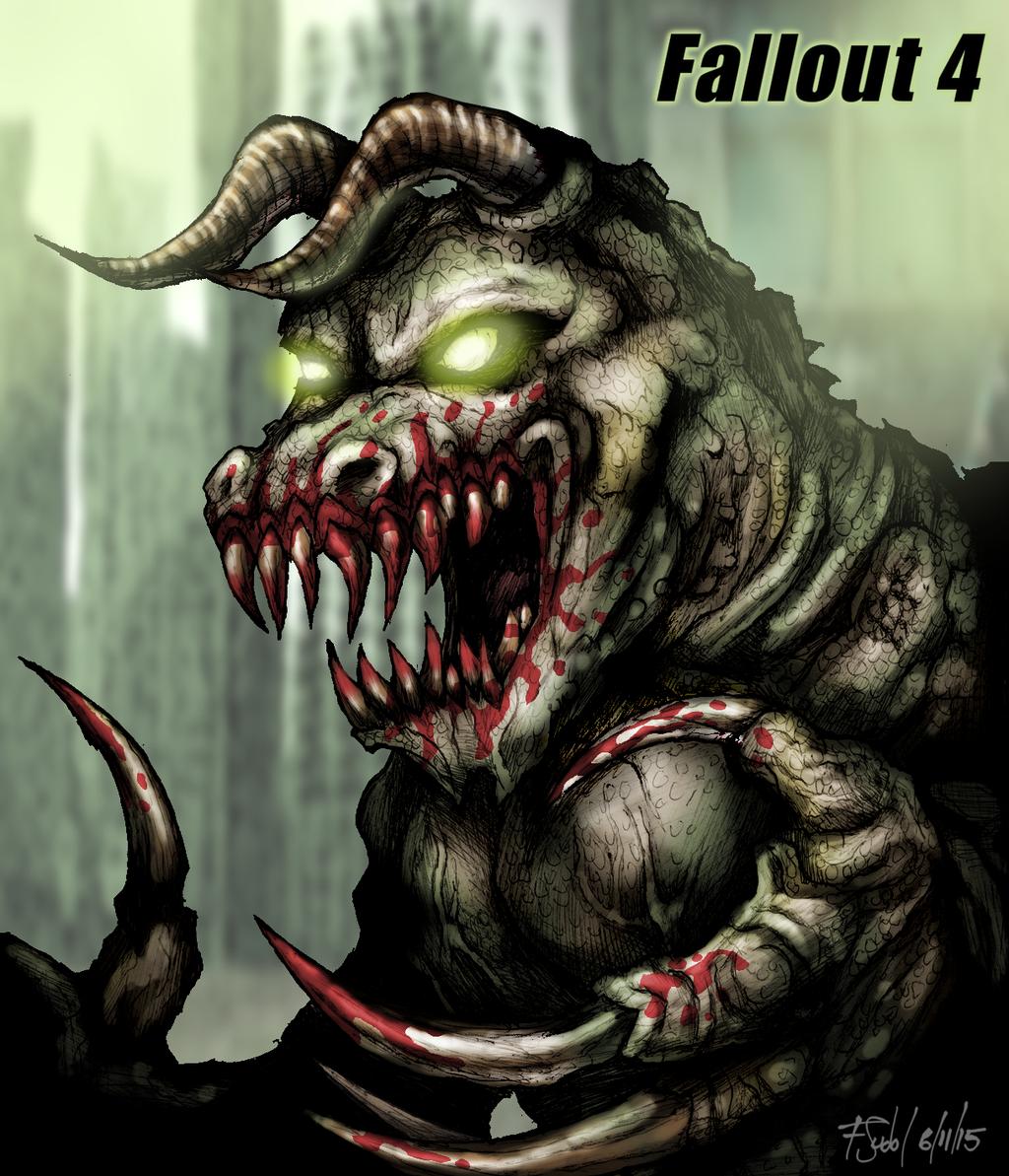Fallout 3 Fan Art: Fallout 4 Deathclaw By FSudol On DeviantArt