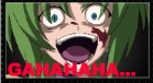 Higurashi : Shion Laugh Stamp by TheGreatNoOne