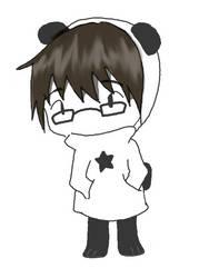 Panda Person by Takasumi-Airi