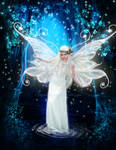 Book Cover fairy wings