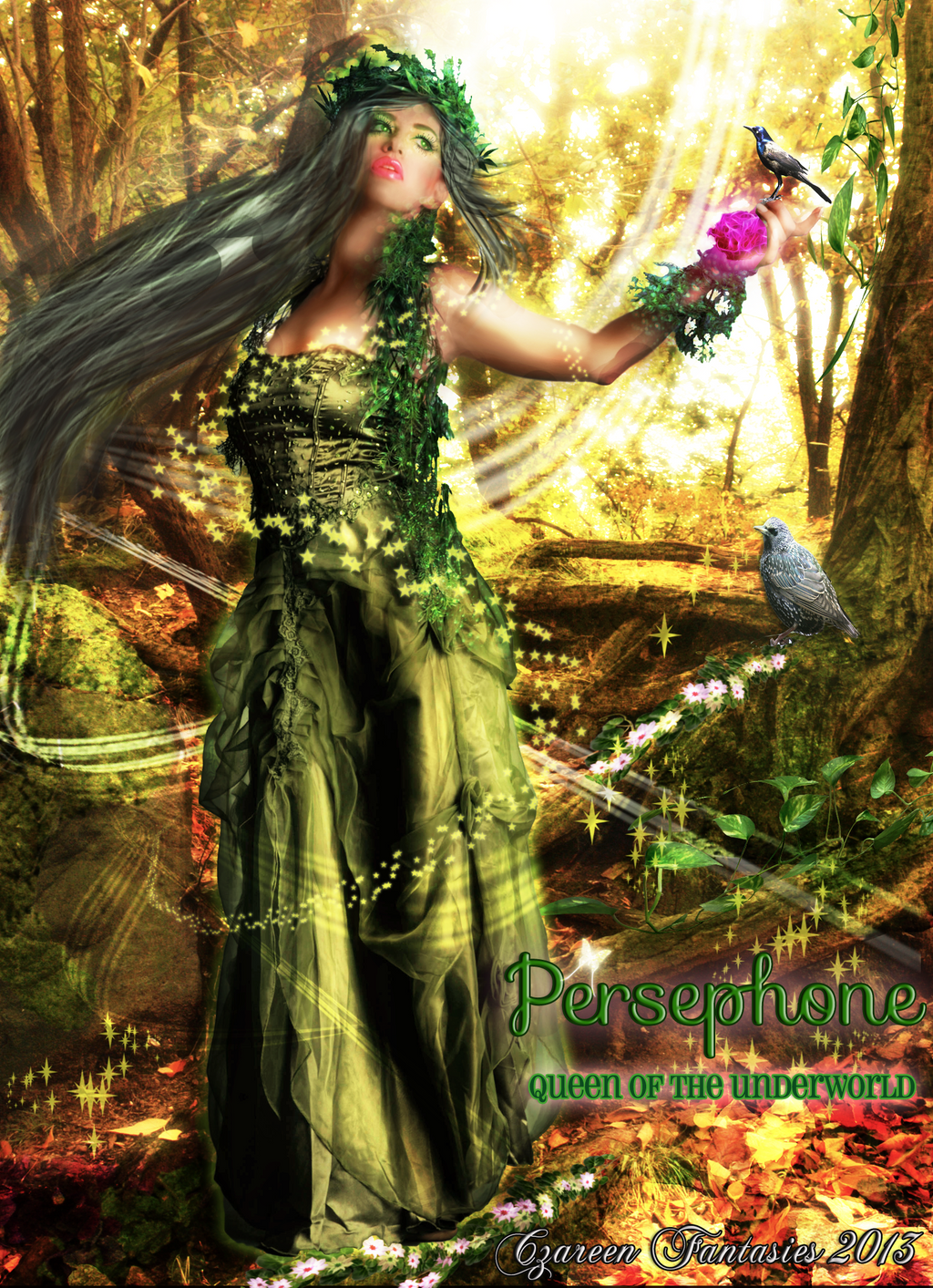 Persephone: Queen of The Underworld by CzareenYJ on DeviantArt