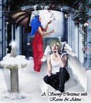 A Snowy Christmas With Karou and Akiva