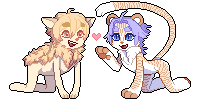 Pixel Page Dolls by BlueBerried