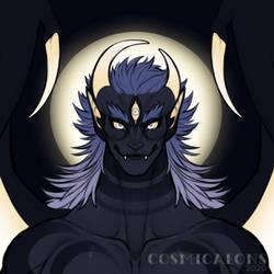 Moon Bat Alien