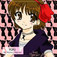 Kiki-chan by michirumakichi