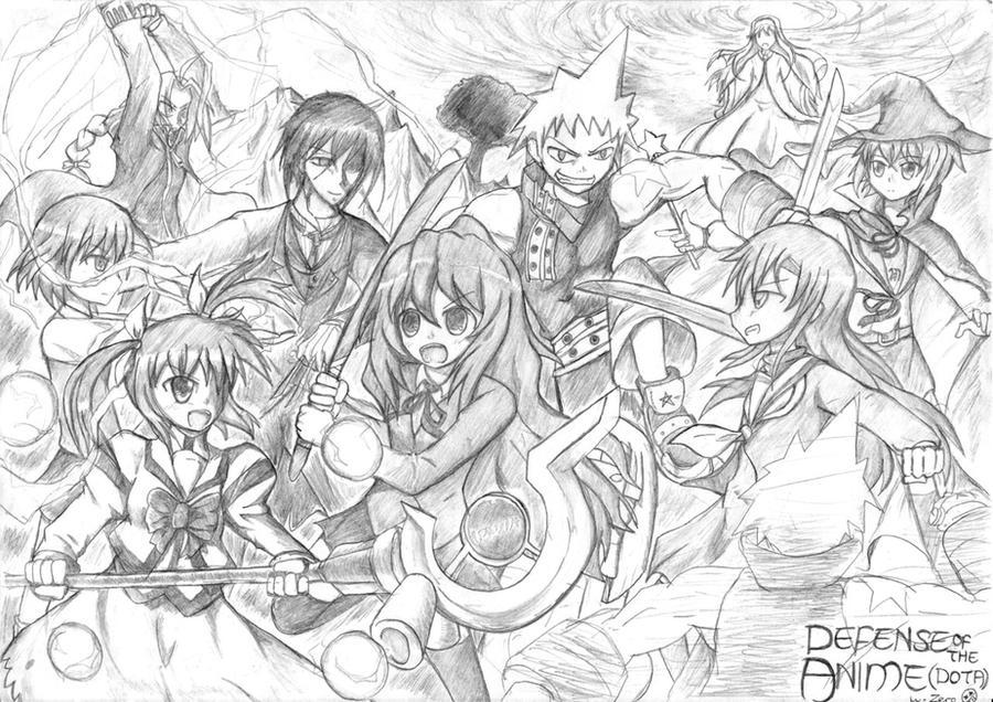 dota defense of the anime by zerotheultradirector on deviantart