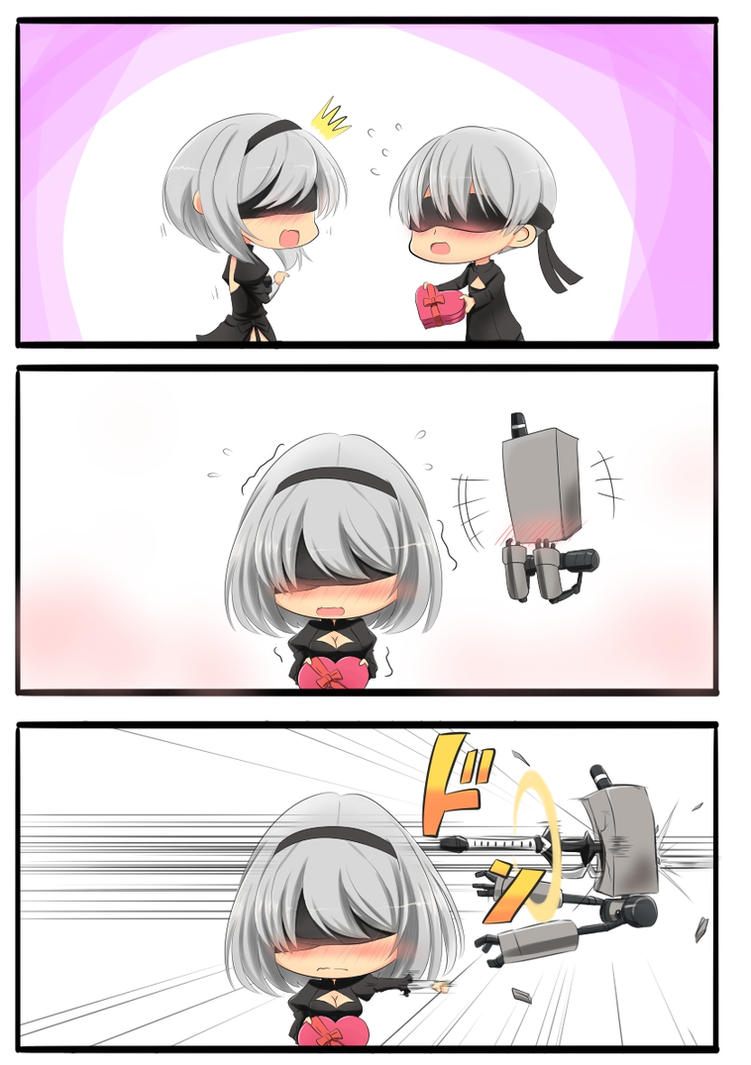 NieR Valentine by ZeroTheUltraDirector