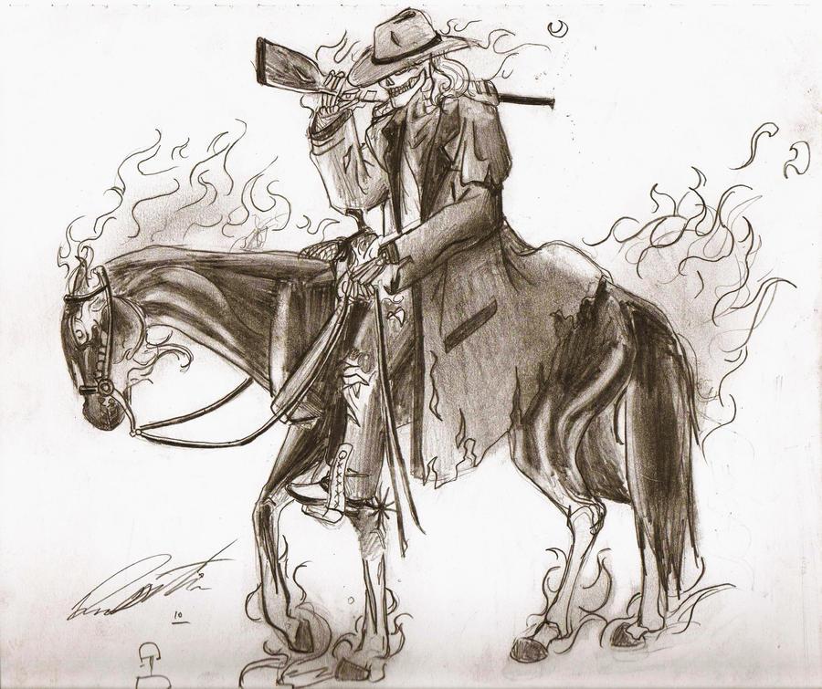 Ghost Ranger by Vaquero-boy on DeviantArt