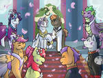 Sweetie Bell's Wedding by Icefeather24