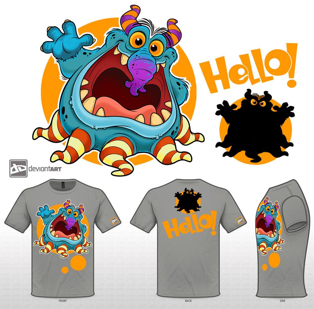 cute monster by nabillll