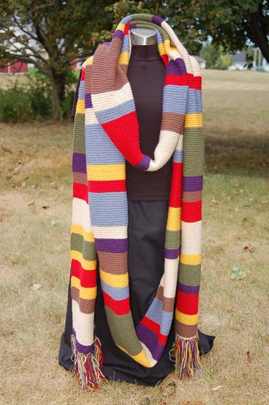 Renkli Örgü Bayan Atkı Modeli