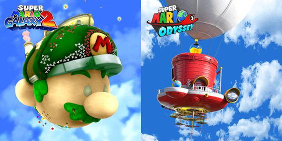 Starship Mario Or Odyssey By Trentinalto On Deviantart