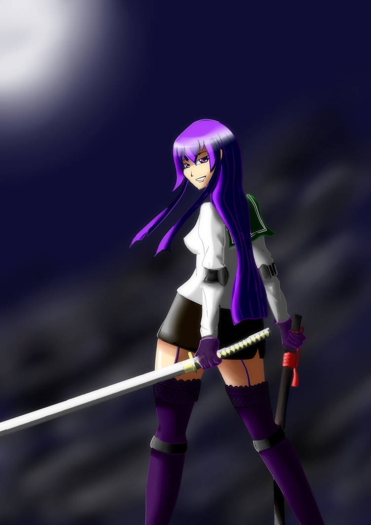 High School of the Dead - Saeko
