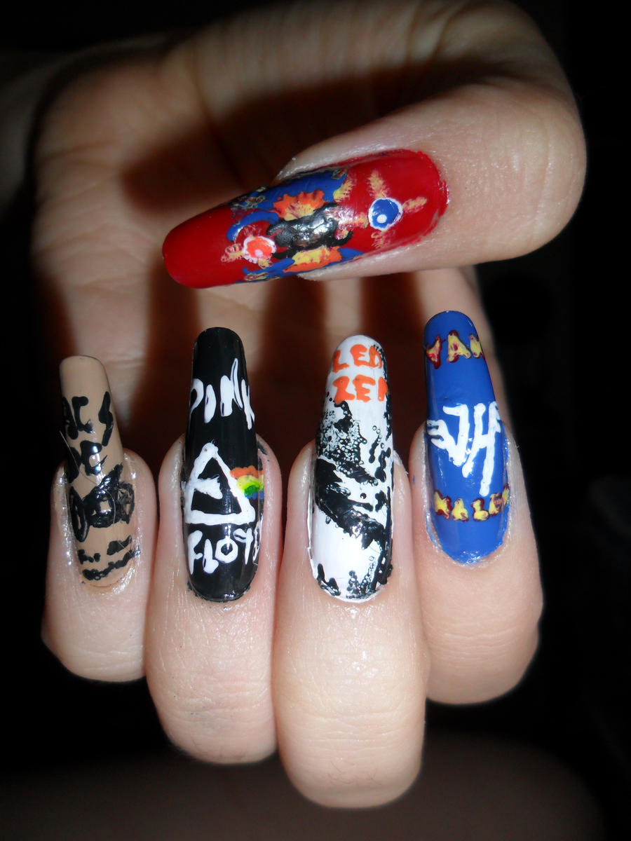 Newest nail art by wolfgirl1 on DeviantArt