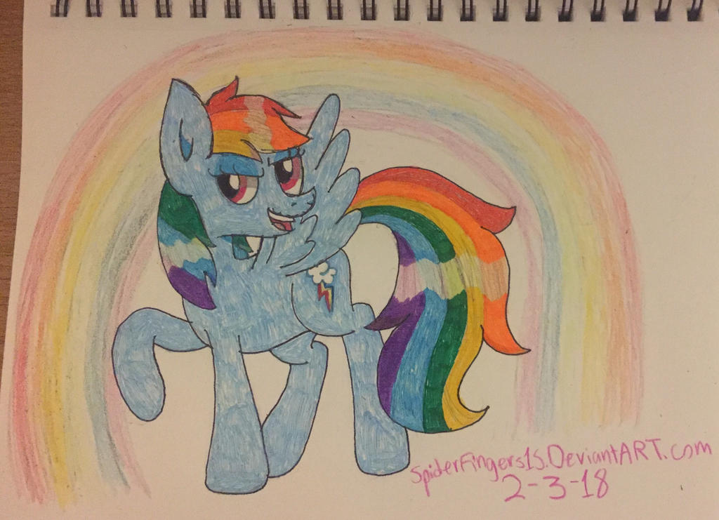 Dashie by SpiderFingers15