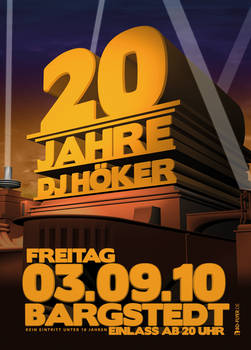 20 Jahre DJ Hoeker