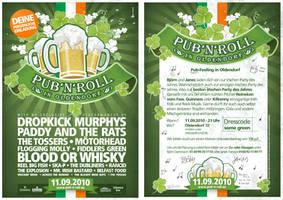 Pub'n'Roll - Flyer