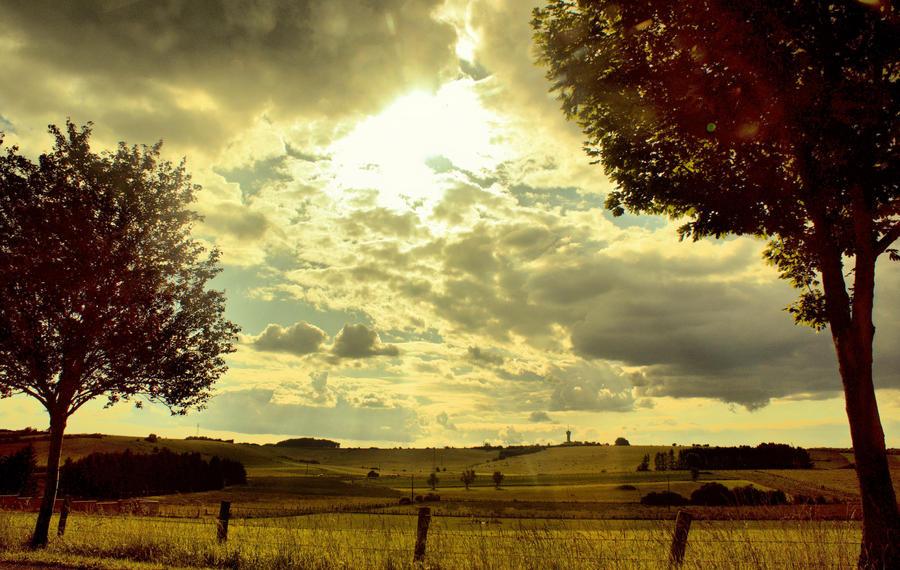 Cloudy evening II by LiveInPix