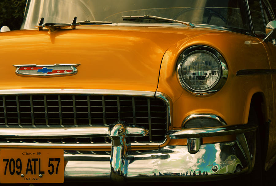 Old Chevy 55 by LiveInPix