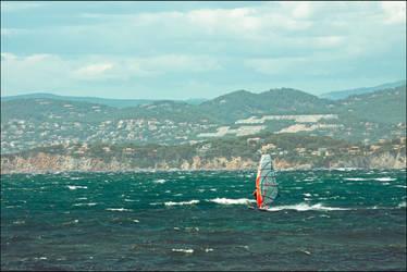 Enjoy the wind by LiveInPix