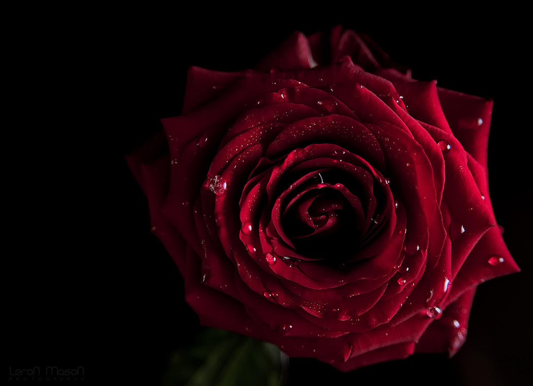 red Kiss by LeronMasoN