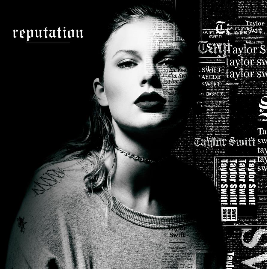 ALBUM COVER   Taylor Swift - Reputation   EDIT by smilerizm on DeviantArt