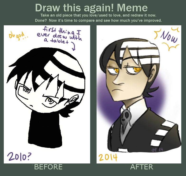 DRAW THIS AGAIN???? by triforcetraveller