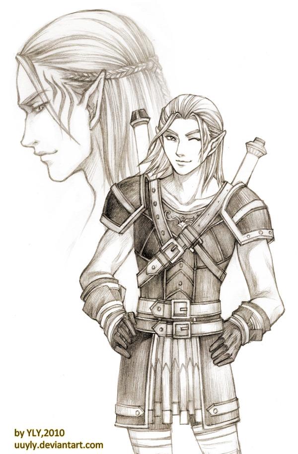 flirt with zevran fenris Meeting zevran | dragon age 2 us.