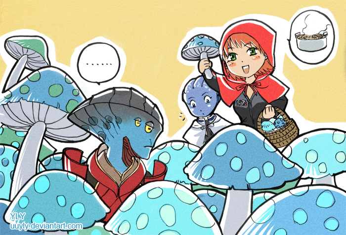 mushroom Javik by uuyly