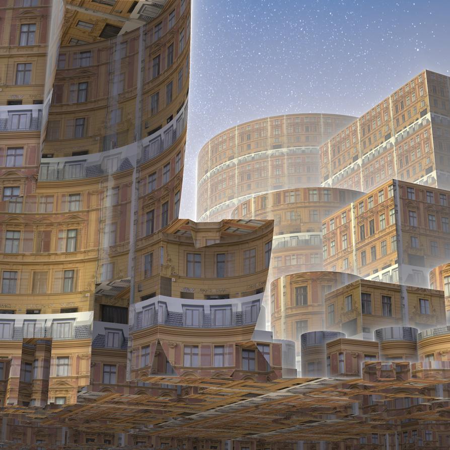 Future Metropolis by busyjoyce