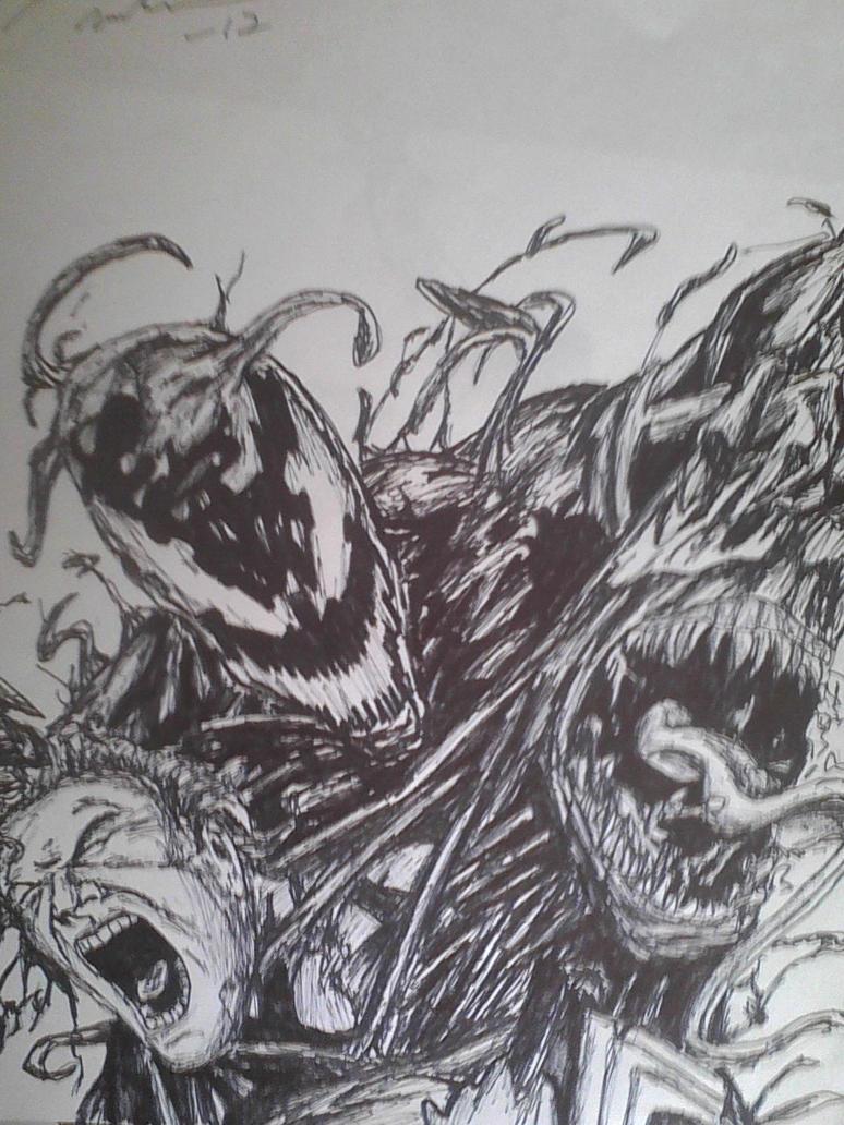 venom vs carnage by artkid01 on deviantART