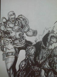 cable vs carnage