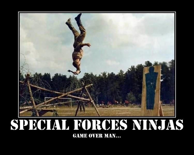 Special Forces Ninjas by BerserkerWolf