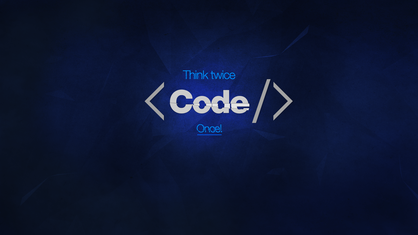 Think Twice Code Once (36 Wallpapers) – HD Desktop Wallpapers