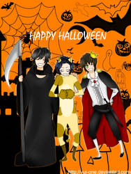 HAPPY HALLOWEEN by YUI-ONE