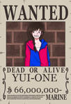 WANTED YUI-ONE by YUI-ONE