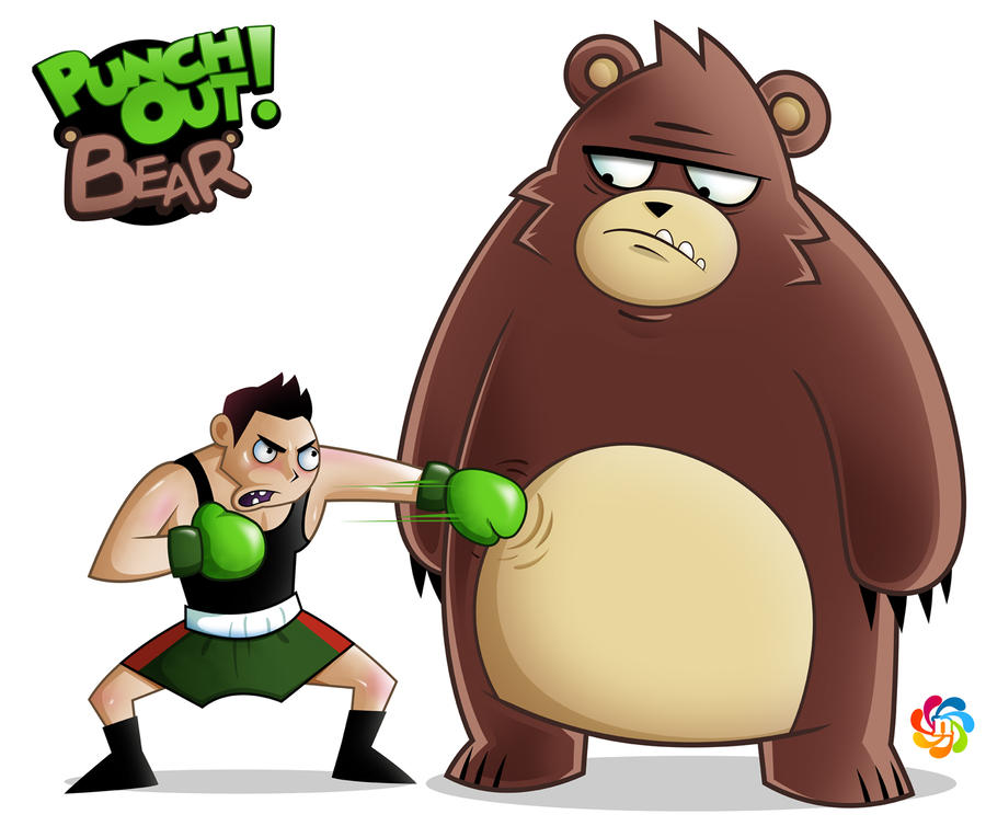Punch Out Bear by NuchiCorp