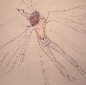 amiael: angelic retribution by natsukoarts