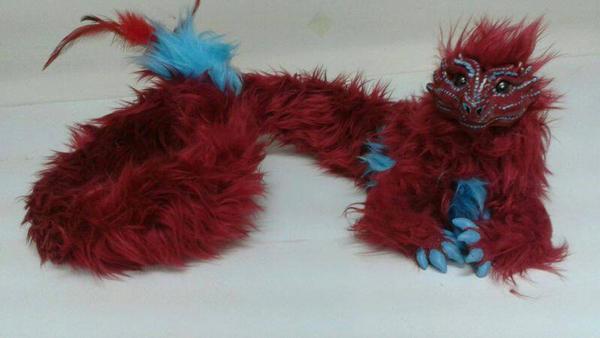 Eastern Dragon Wearable art doll  by LovelyTwistofNature