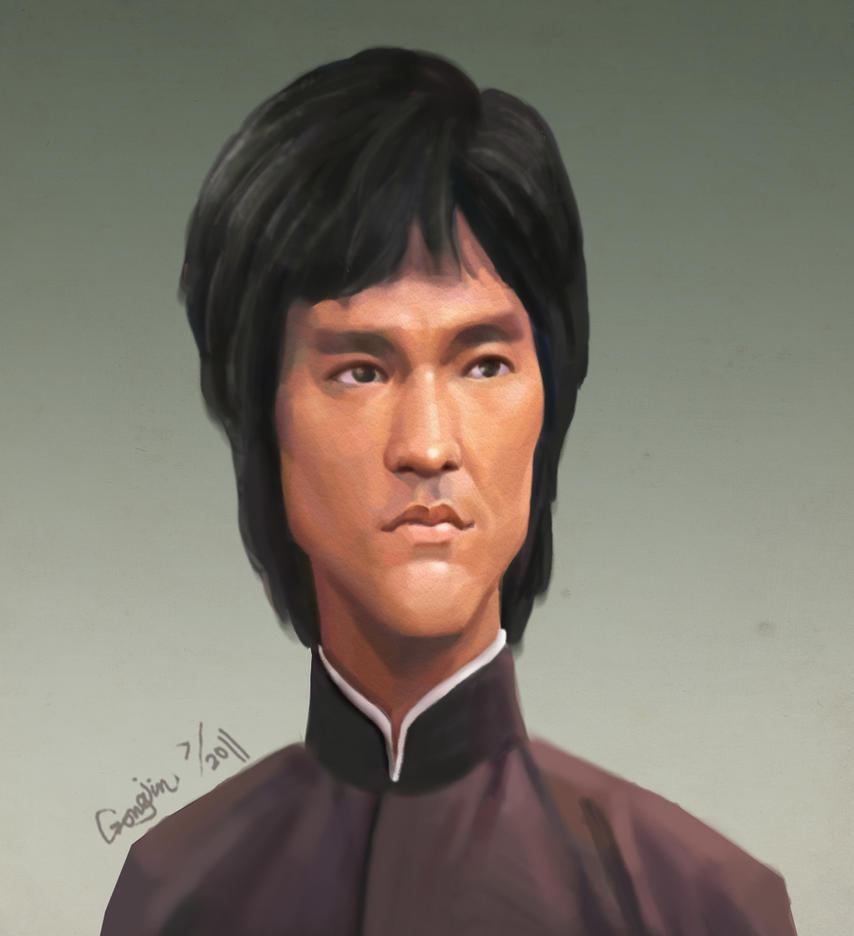 bruce lee by gongjin
