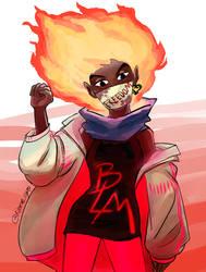 Chama Negra - Black Flame