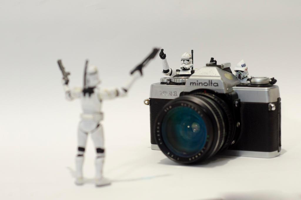 Stormtrooper minolta by abomontage