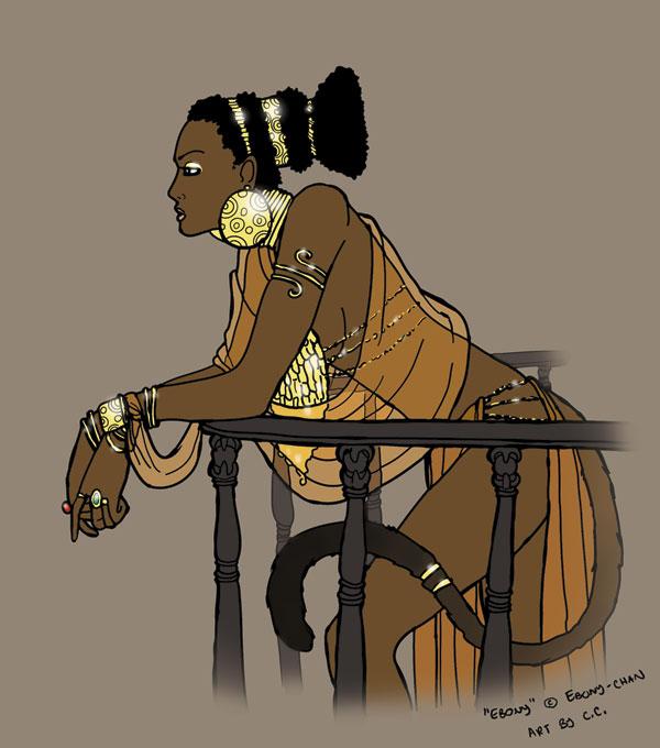 OLD - PE: Ebony by tinkerbelcky