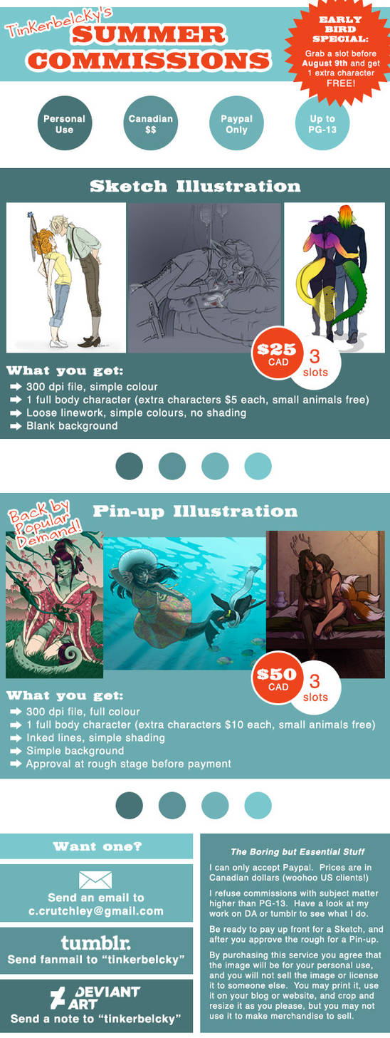 Summer Commission Info 2015 by tinkerbelcky