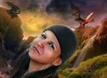 Elena In Dragon World