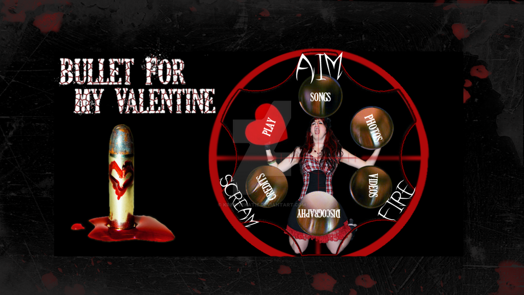 Bullet For My Valentine :Scream, Aim, Fire By Kr8tivekatie ...
