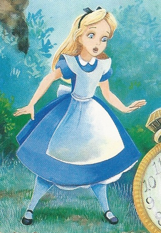 Alice In Wonderland Book Alice Saw Rabbit