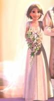Rapunzel In Wedding Dress 2