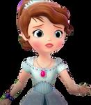 Sofia In Blue Crystal Dress